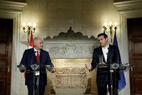 Ministerpräsident Binali Yıldırım traf sich am Montag in Athen mit seinem griechischen Amtskollegen Alexis Tsipras. Bei ihrem Treffen betonten sie Solidarität und gegenseitigen Dialog bei der...