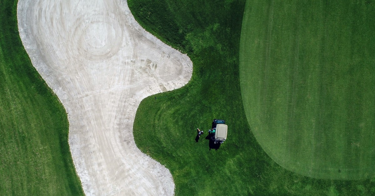 An aerial view of a golf course in Antalyau2019s Belek Region, which draws 120,000 people from Europe, Asia and the U.S. on an annual basis.