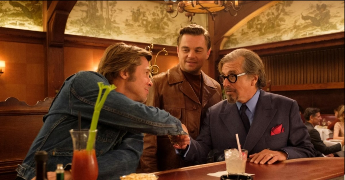 Brad Pitt, Leonardo DiCaprio and Al Pacino get together in Tarantino's film.