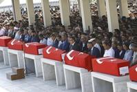 Beerdigung der Opfer des Putschversuches in Ankara, 17. Juli 2016. (Reuters Foto)