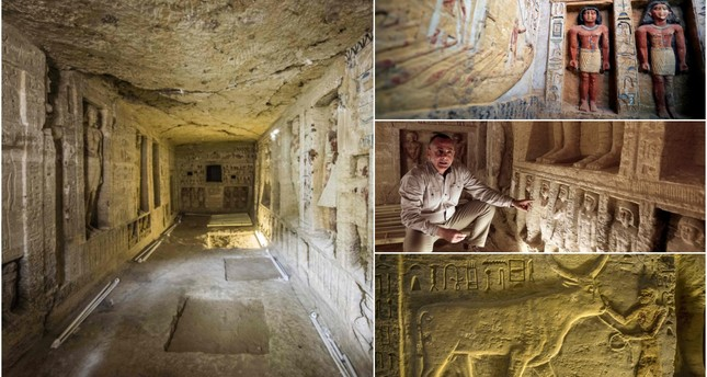 Egypt uncovers 4,400-year-old Pharaonic-era tomb