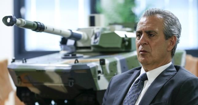 المدير العام لشركة (إف إن إس إس- FNSS) التركية المتخصصة بصناعة المدرعات- نائل كورت