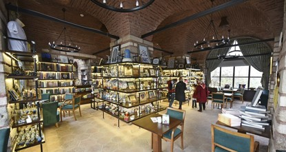 Sitting atop of Zeyrek Hill, the third of Istanbul's famed seven hills, Istanbul Kitapçısı is a recently opened bookstore in the heart of Turkey's most populous city that offers books, souvenirs...
