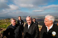 Graham to lobby Trump to recognize Golan Heights as Israel's