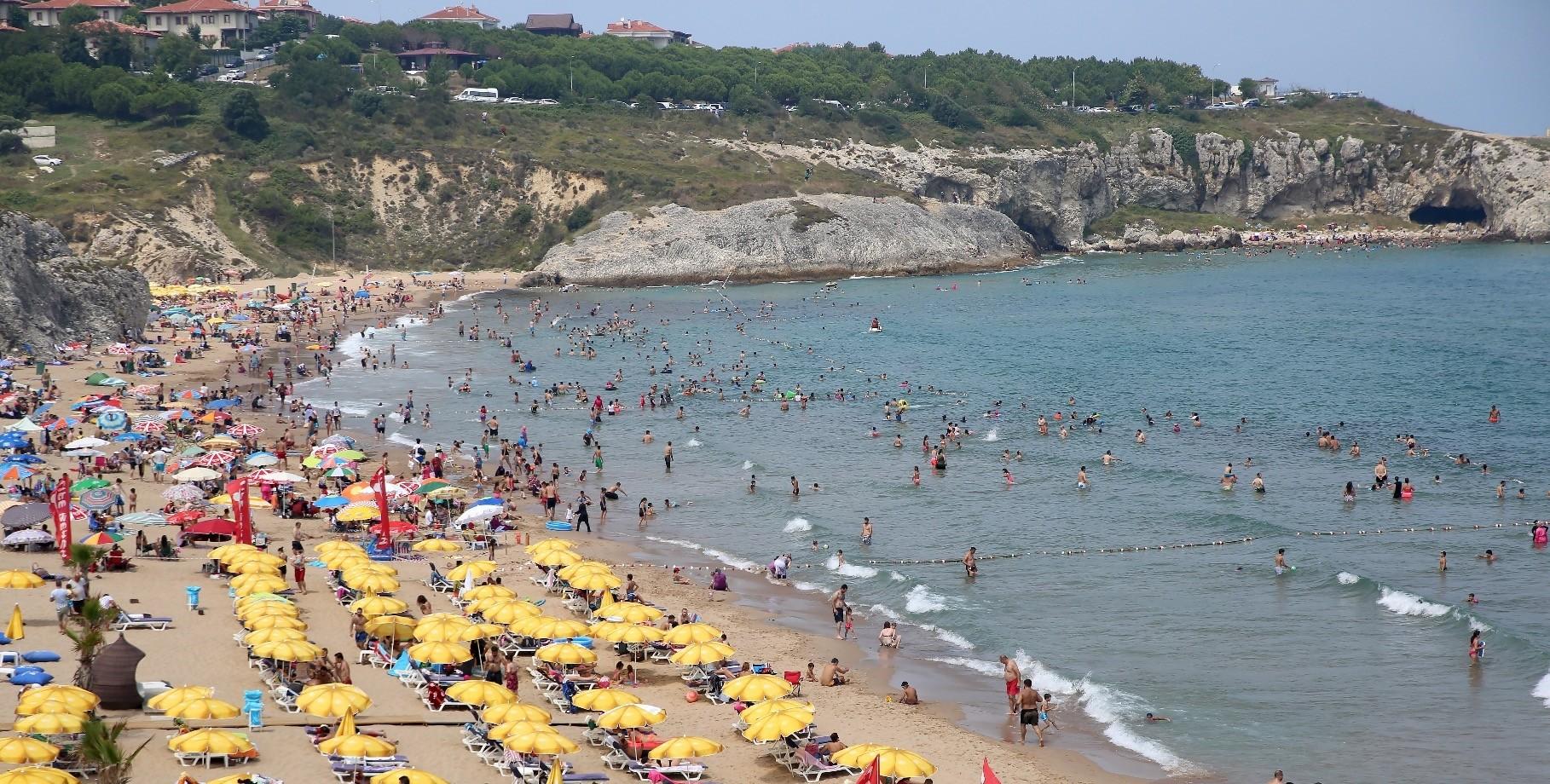 The beach is a popular weekend getaway.