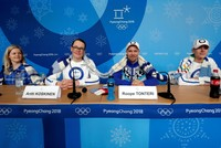 Finland shows Pyeongchang Olympics how it battles nerves: team knitting