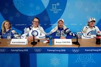 Finland shows Pyeongchang Olympics how it battles nerves: team knitting