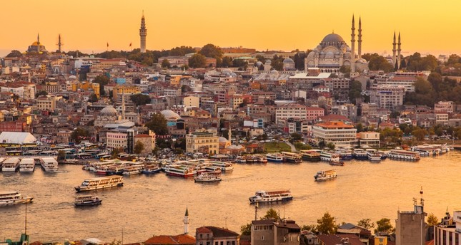 """There are numerous theories about where the name """"Golden Horn"""" derived from but no matter what inspired its name, watching the sun setting over the Golden Horn is a must do in Istanbul"""