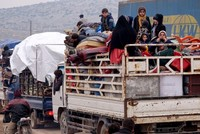 36,000 more civilians flee Syria's Idlib in past 48 hours