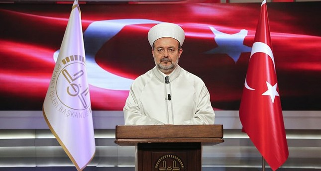 رئيس إدارة الشؤون الدينية التركي البروفيسور محمد غورماز  (وكالة دوغان للأنباء)
