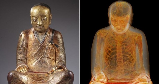 "The human-sized sitting Buddha statue called the ""Zhanggong Patriarch,"" disappeared from a temple in Yangchun in late 1995 after being worshipped for centuries."