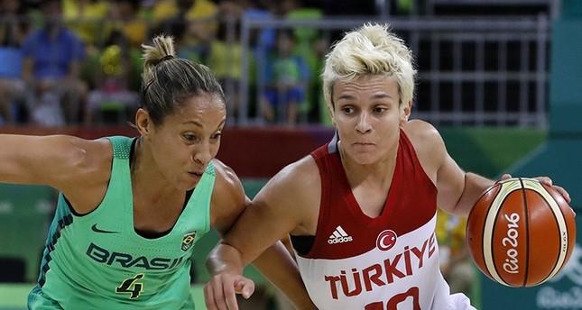 سلة سيدات تركيا تحققن الفوز الثالث على التوالي بأولمبياد ريو
