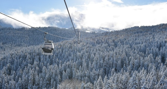 Bursa's Mt. Uludağ is one fo the most popular places to go skiing in Turkey.