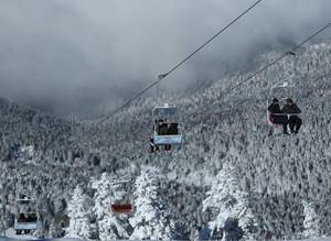В Турции стремительно развивается зимний туризм