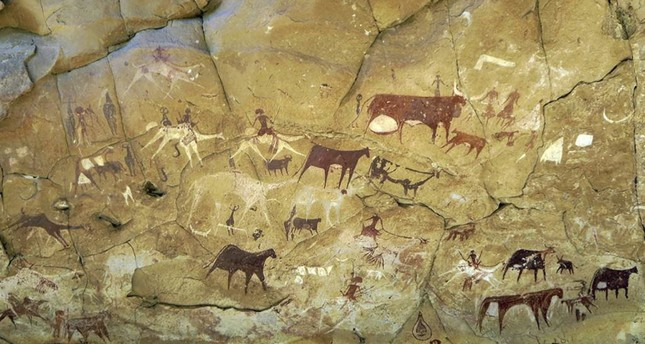 Chad cave paintings at world heritage site defaced