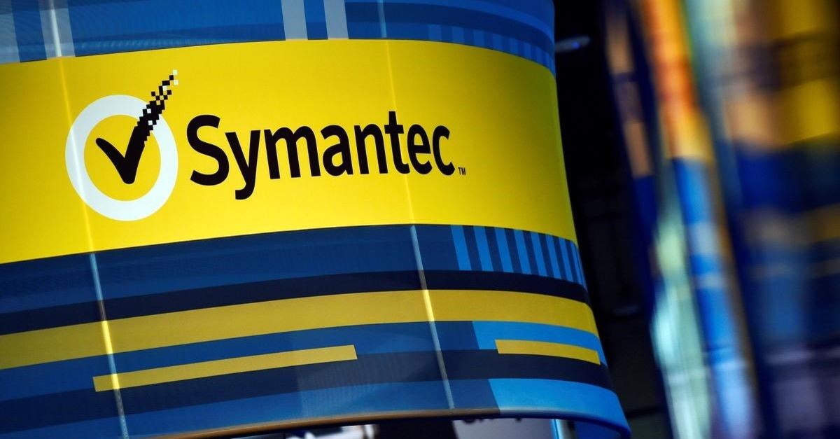 The Symantec booth is seen during the 2016 Black Hat cyber-security conference in Las Vegas, Nevada, U.S. August 3, 2016. (Reuters Photo)