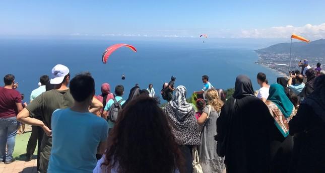 ارتفاع عدد السياح في ولاية أوردو شمالي تركيا 25%