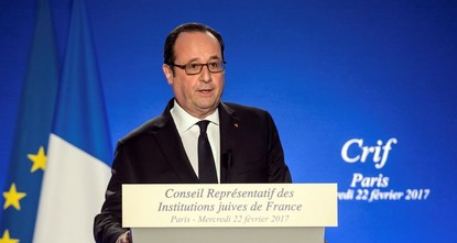 France is committed to a two-state solution for the Middle East conflict, President François Hollande said amid the U.S. President Donald Trump's pro-Israel policies hampering the peace process in...
