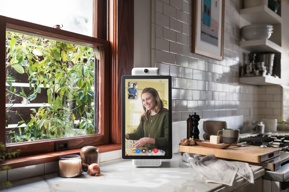 Facebook is marketing the Portal as a way for its more than 2 billion users to chat with one another without having to fuss with positioning and other controls.