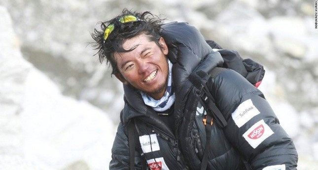 emFile photo of Japanese climber Nobukazu Kuriki/em