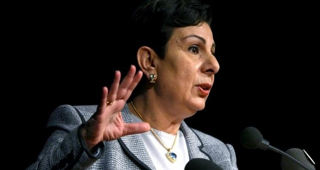 حنان عشراوي - عضو اللجنة التنفيذية لمنظمة التحرير الفلسطينية
