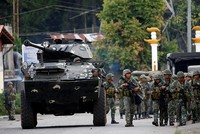 Over 2,000 fearful civilians were trapped on Sunday inside a southern Philippine city where troops are battling pro-Daesh terrorists, authorities said, as the death toll from almost a week of...