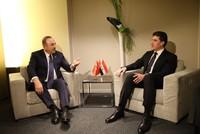 FM Çavuşoğlu meets Iraqi Kurdish leader Barzani, discusses regional issues