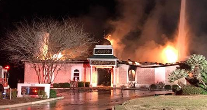 pAn early-morning fire has destroyed a Texas mosque that had been a target of hatred in the past./p  pThe Victoria Advocate reports that a convenience store clerk spotted smoke and flames...