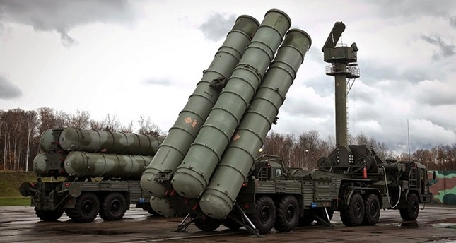 Russian-made S-400 surface-to-air missile defense system. File Photo