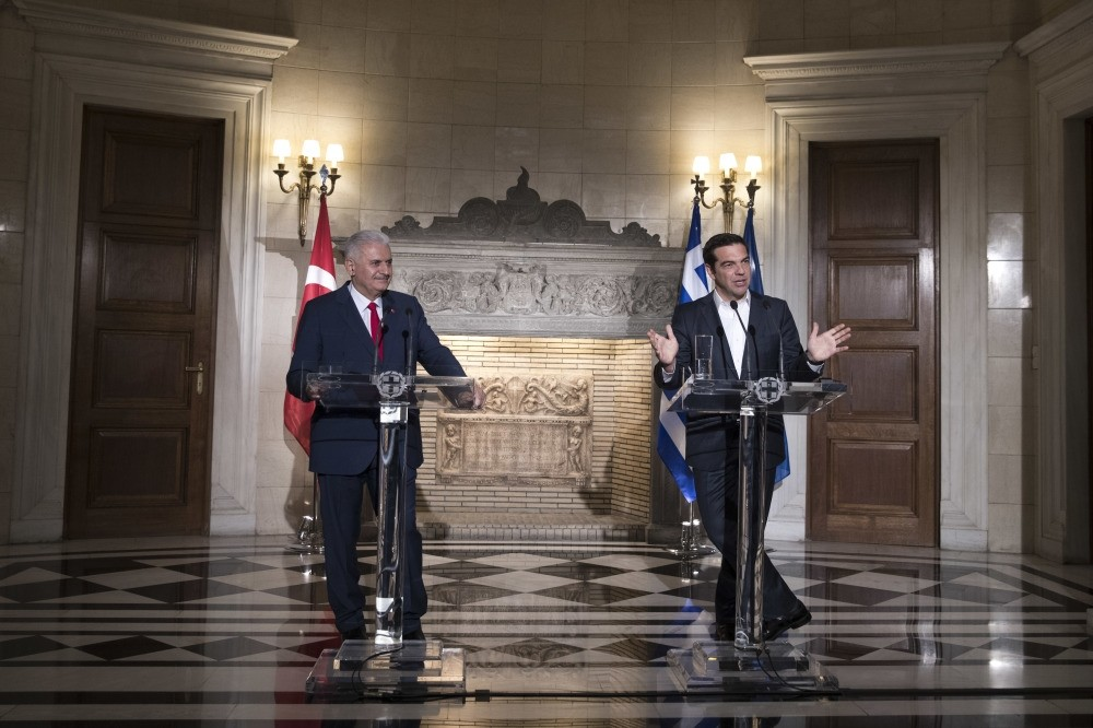 Greek Prime Minister Tsipras said during PM Yu0131ldu0131ru0131m's visit that Greece supports Turkey's EU accession course, which can help resolve issues and stimulate further cooperation.