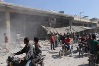5 killed in Assad regime, Russia airstrikes in Syria's Idlib