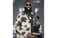 Rockets ace Harden crowned NBA MVP