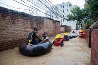Dozens dead as monsoon floods hit Nepal, India