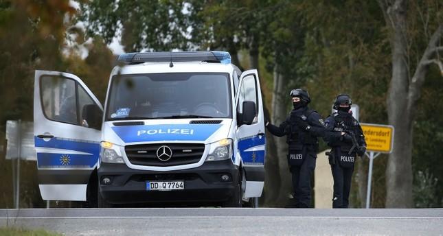 قوات التدخل الخاصة في مكان إطلاق النار الفرنسية