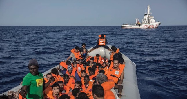 The total number of migrants who drowned in the Mediterranean Sea so far this year rises.