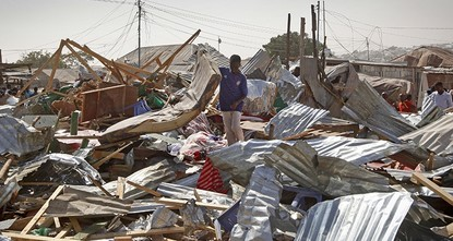 pThe toll has climbed to 39 dead in an unusually deadly suicide bombing at the weekend in the Somali capital Mogadishu, rescue workers said Monday, the first since a new president was chosen this...