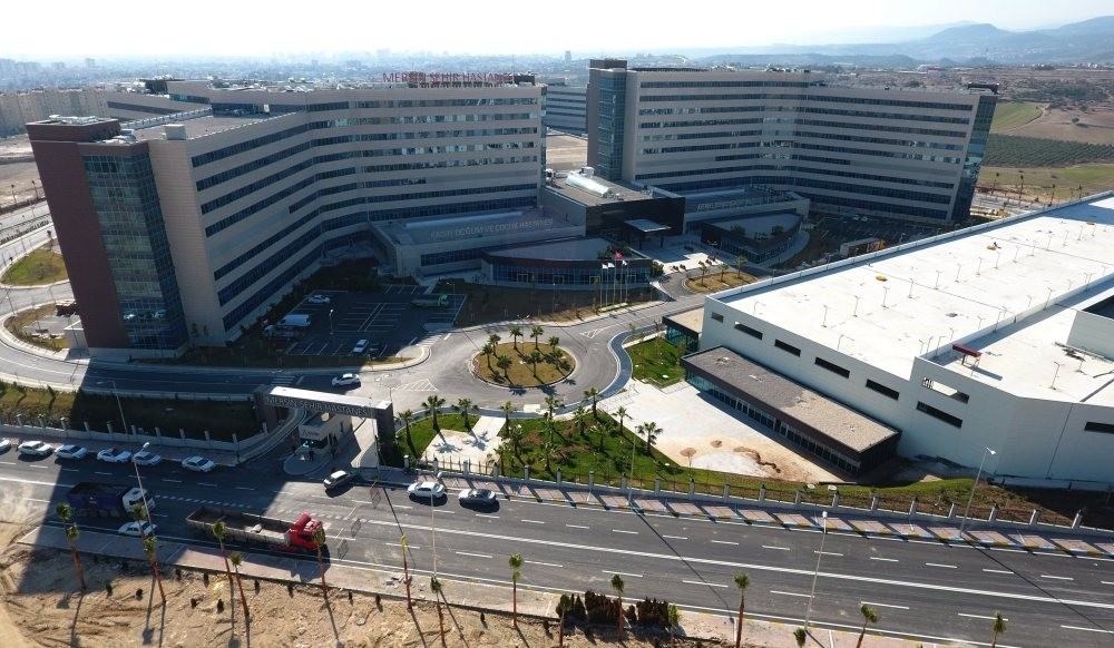 The Mersin City Hospital is among the government's pojects to further advance universal healthcare.