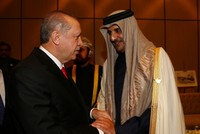 President Erdoğan holds phone call with Qatari Emir Al Thani