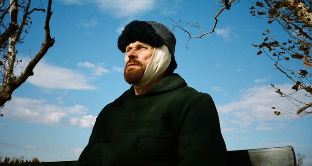 """Willem Dafoe plays Vincent Van Gogh in the film """"At Eternity's Gate."""""""