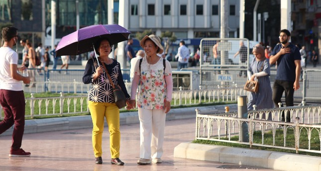 All-time record-high temperature set in Istanbul