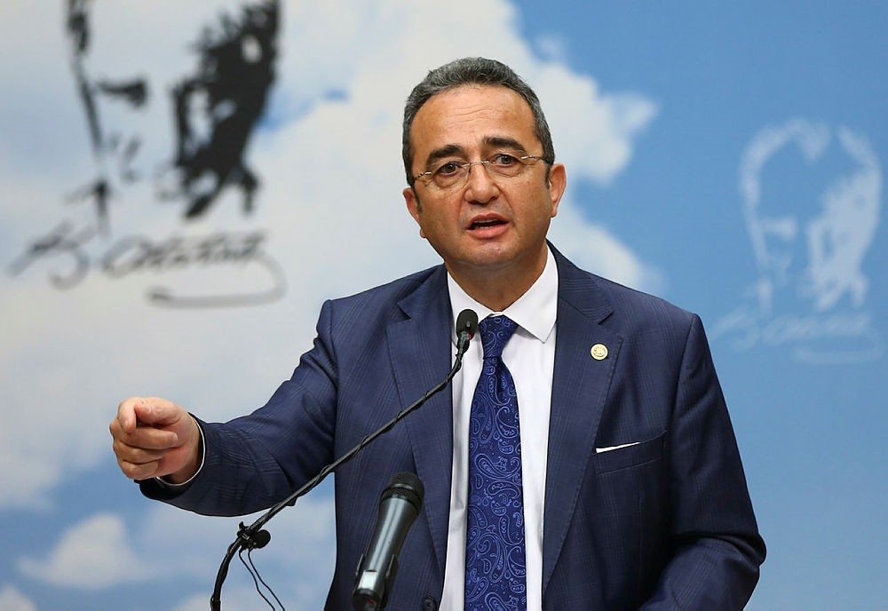 CHP spokesperson and Deputy Chairman Bu00fclent Tezcan. (AA Photo)