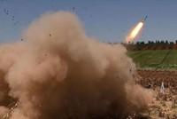ي ب ك الإرهابي يستهدف عفرين بصاروخ غراد شمالي سوريا