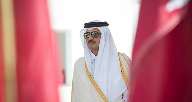 أمير قطر يبحث مع رئيس وزراء العراق في الدوحة دعم العلاقات الثنائية