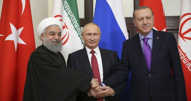 Turkey, Russia and Iran have been holding a series of trilateral summits since they initiated the Astana talks, the first of which was held in the Russian Black Sea city of Sochi on Nov. 22, 2017.