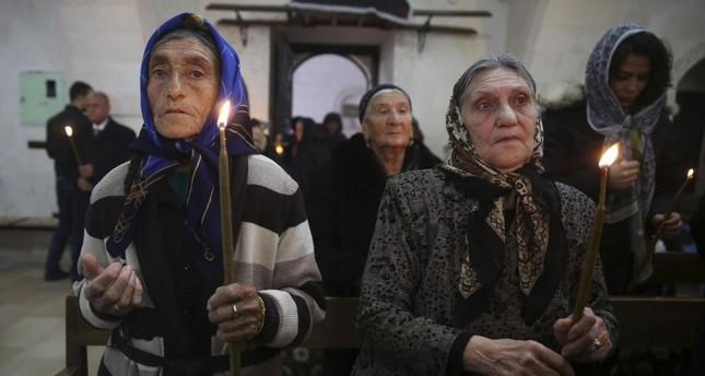 Syriac faithful (Reuters file photo)