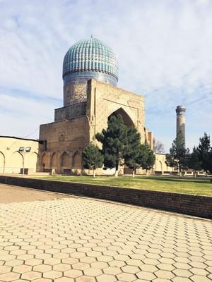 Dome of Bibi Khanym