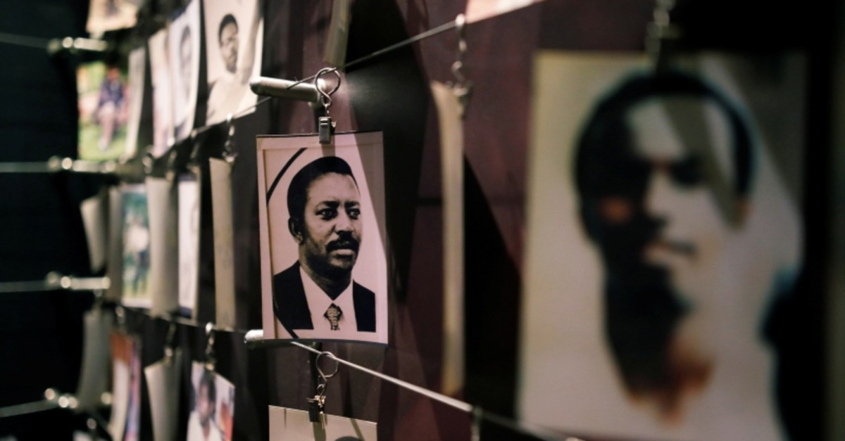 Pictures of the Rwandan Genocide victims donated by survivors are displayed at an exhibition at the Genocide Memorial in Gisozi in Kigali, Rwanda April 6, 2019. (Reuters Photo)