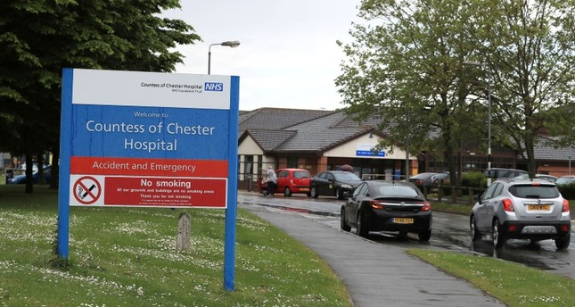 In this file photo dated May 18, 2017, showing the Countess of Chester Hospital in Chester, England. (AP Photo)