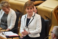 Scotland's Sturgeon calls for second referendum to break away from UK