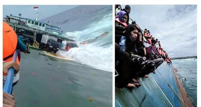 29 قتيلاً و41 مفقوداً في غرق عبارة بإندونيسيا